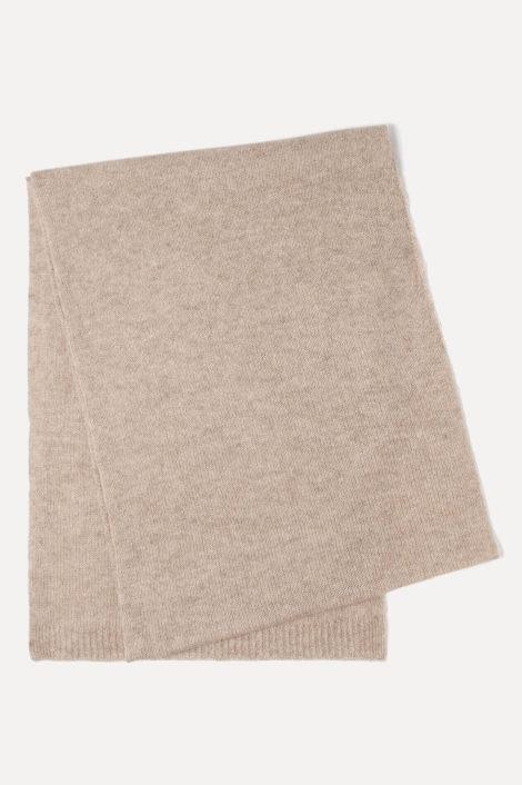 écharpe pour femme beige en cachemire