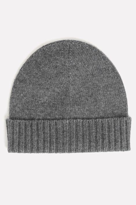 Bonnet gris cachemire