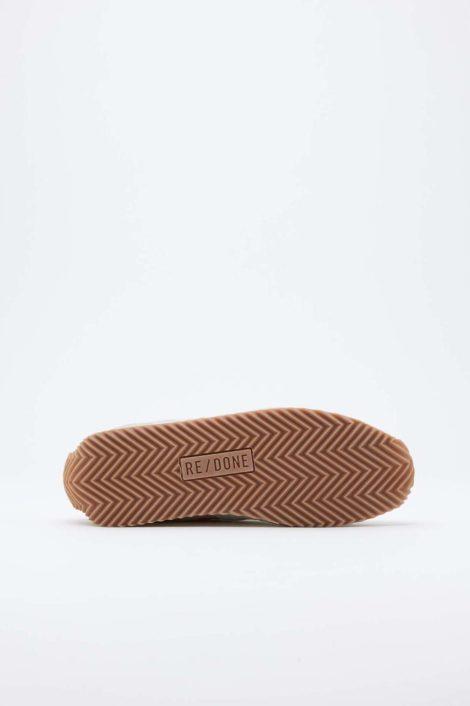 sneakers redone verte vue de dessous