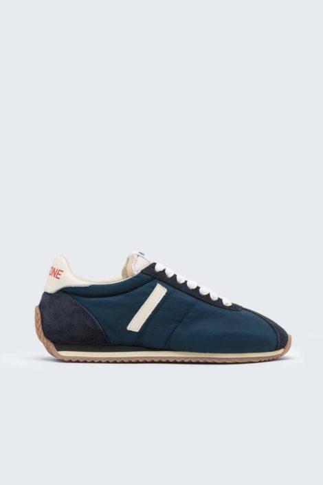sneakers redone verte vue de profil