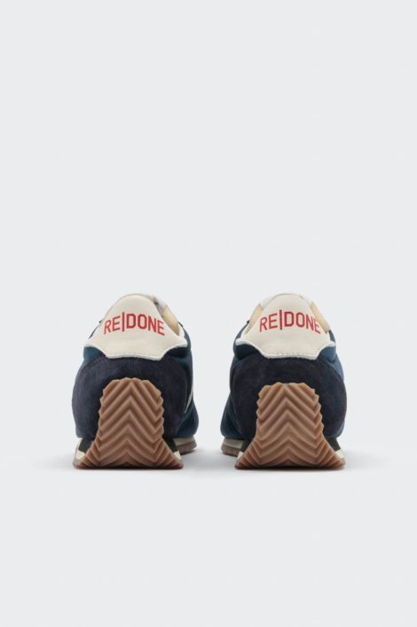 sneakers redone verte vue de derrière