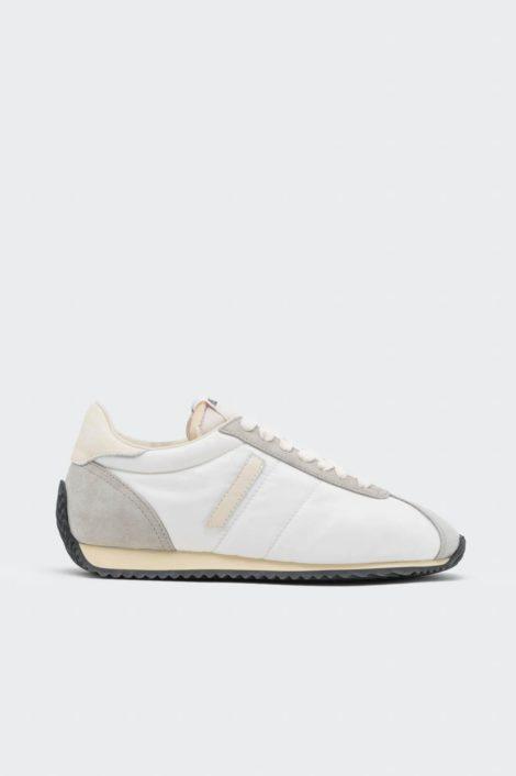 sneakers redone blanc vue de profil