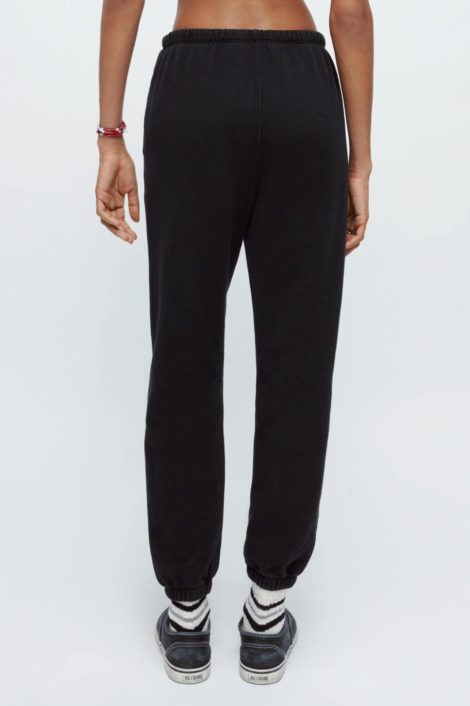 pantalon noir survêtement femme redone