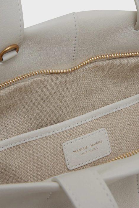 sac blanc en cuir pour femme