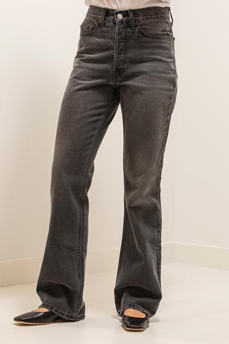 Pantalon jean loose Re/done gris