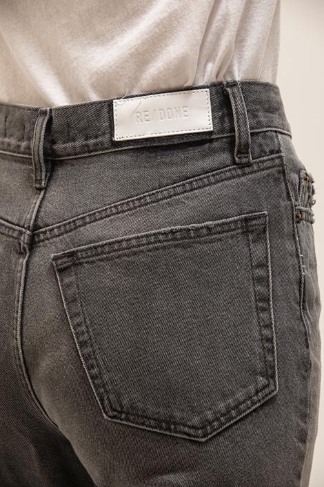 Pantalon jean Re/done gris loose détail poche arrière