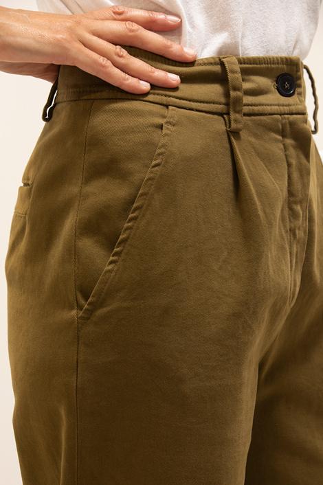 pantalon True Royal kaki détail poche