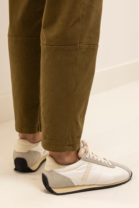 pantalon True Royal kaki détail bas