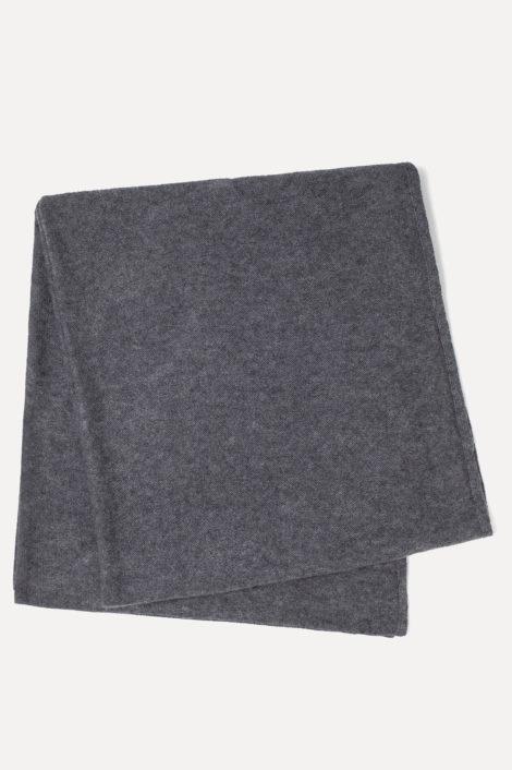 écharpe grise femme
