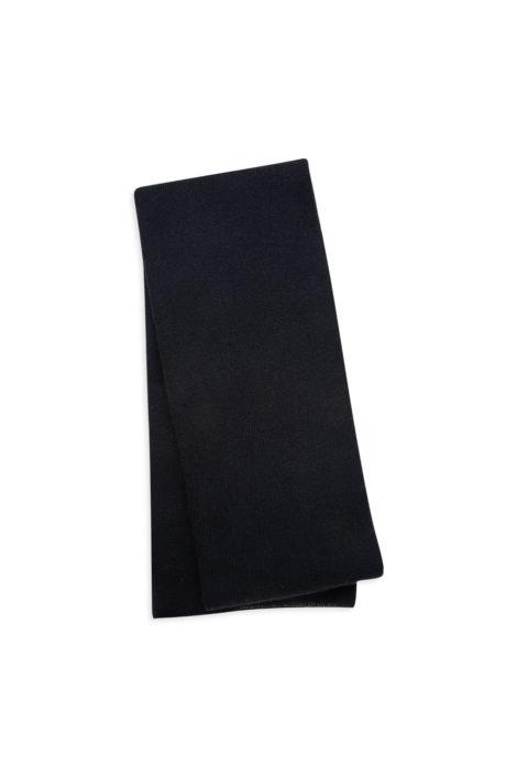 écharpe noire femme