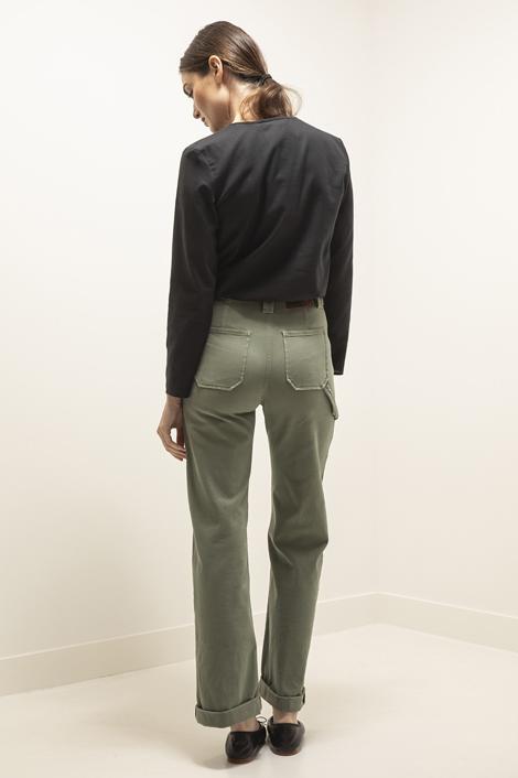 Pantalon kaki pour femme