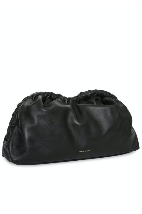 Sac en cuir noir fabriqué en Italie